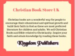 Christian Book Store Uk