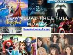 Latest download movies for free in high quality