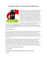 Titan Xplode - Drives lean muscle mass structure on physique