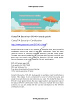 CompTIA Security SY0-401 study guide