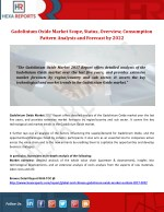 Gadolinium Oxide Market Scope, Status, Overview, Consumption Pattern Analysis and Forecast by 2022