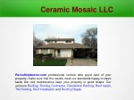 Residential, Tiles Roofing, Contractor, Roof repair and Installation at Denver CO