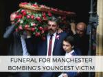 Funeral of youngest Manchester victim Saffie takes place
