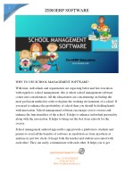 Online school management software