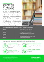 Education and Learning Flyer - Mobiloitte