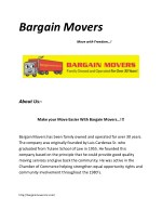 Move In Maryland with Bargain Movers