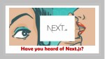 Have you heard of Next.js?