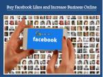 Buy 100%  Real Facebook Likes