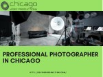 Professional photographer in Chicago