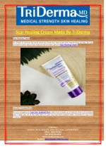 Scar Healing Cream Made By TriDerma