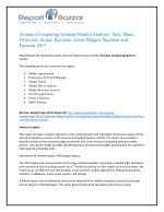 Avionics computing systems Market Analysis, Applications, Size, Share, Overview To 2022