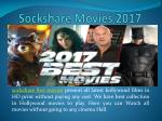Sockshare Movies 2017
