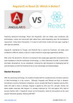 AngularJS vs React JS: Which Is Better?