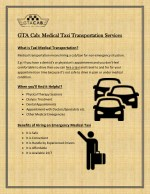 Booking a taxi for medical transportation in Toronto is easy now!