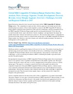 MRI Compatible IV Infusion Pumps Market to Record Ascending Growth by 2022