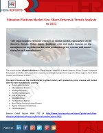 Vibration Platform Market Provide Consumption Patterns, Market Dynamics and Investment Feasibility Analysis to 2022