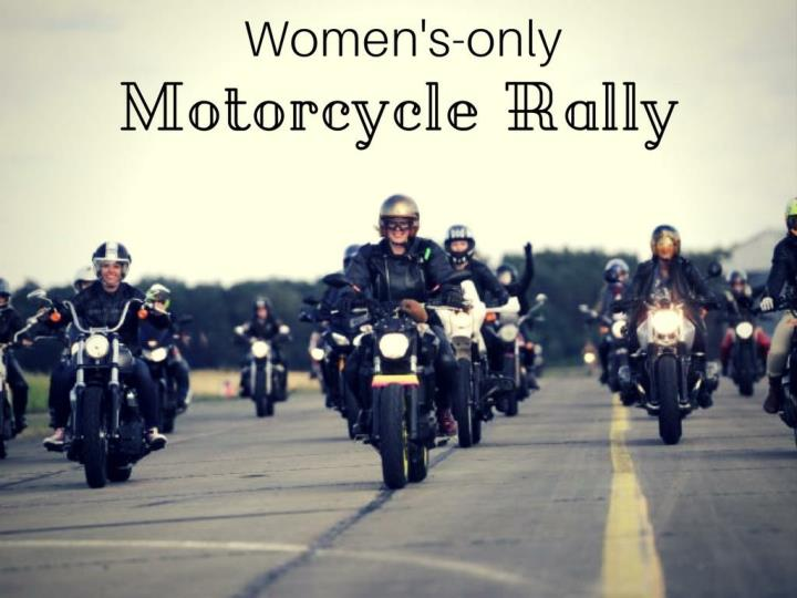 women s only motorcycle rally n.