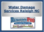 Water Damage Services Raleigh NC