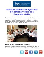 Complete Guide to Become an Ayurveda Practitioner