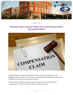 Personal Injury Lawyer Helps You Avoid Being Fooled by Lowball Offers