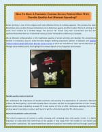 How to have a fantastic custom screen printed shirt with durable quality and minimal spending?