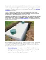 How to take care of your septic system