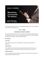 Income return filing | Taxithere in Andhra Pradesh