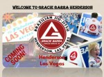 Welcome to Gracie Barra Henderson