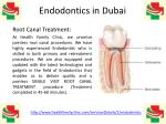 Best Quality Painless Endodontics (Root Canal) Treatment in Dubai