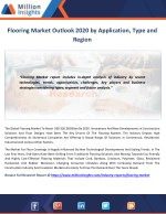 Flooring Market Technological Advancements & Competitive Insights to 2020