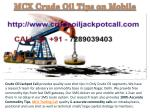100% Accurate Commodity Tips, MCX Trading Call