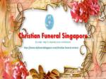 Christian Funeral Singapore