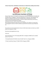 Scissors Paper Stone: Affordable and Adventurous Toddler Kids and Baby Haircut Salon