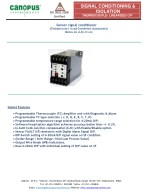 Thermocouple manufacturers and suppliers in India - Canopus Instruments