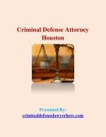 Criminal Defense Attorney Houston