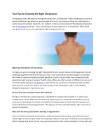 Chiropractor & Chiropractic,Herniated disc,Carpal tunnel,Low Back pain,Neck pain,Knee pain,Physical therapy, therapist,A