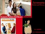 Packers and Movers in Muzaffarpur – Aryawarta packers movers