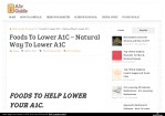 Foods To Lower A1C – How To Lower A1C