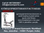 Buy Your Commercial Gym and Fitness Equipments in India online