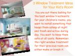 3 Window Treatment Ideas for Your Kid's Room