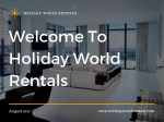 Best Holiday Apartments in London |#HolidayWorldRentals