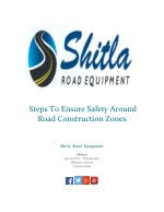 Steps To Ensure Safety Around Road Construction Zones