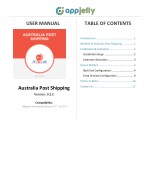 Australia Post Shipping Rates Extension