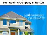 Experienced and Professional Roofing Contractor in Northern VA