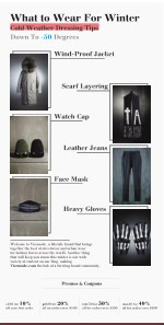 Cold Weather Dressing Tips - Vicemode.com