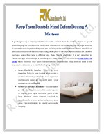 Keep These Points In Mind Before Buying A Mattress