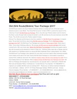 Old Silk Route Tour Package