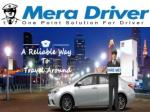 Take the driver service today at affordable rate