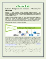 Software Companies in Tanzania – Choosing the Right One!