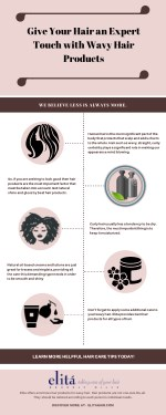 Give Your Hair an Expert Touch with Wavy Hair Products